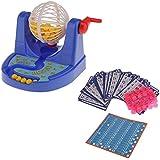 Juego de Mesa Mini Máquina de Bingo Bola de Lotería Fiesta Familia Niños