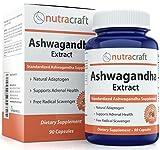 #1 Le Supplément de Ashwagandha - 900 mg d'Extrait standardisé par portion pour soutenir une réponse équilibrée à l'anxiété et la Santé surrénale - Fabriqué aux USA - 90 Capsules...