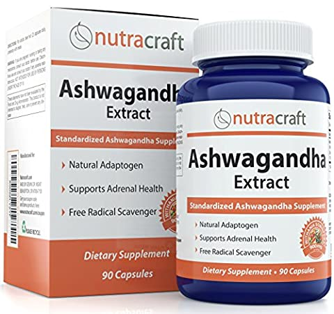 #1 Ashwagandha Supplement – 900mg Standardized Extract Per Serve To Support a Balanced Response To Anxiety and Adrenal Health - Made in USA – 90
