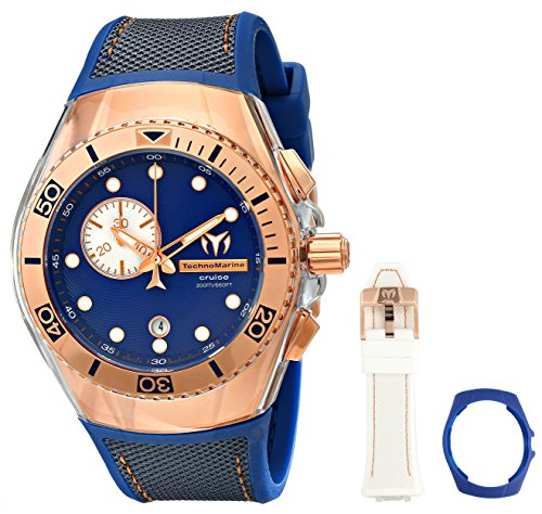 technomarine-cruise-one-swiss-unisex-quartz-watch-with-blue-dial-chronograph-analog-display-and-blue