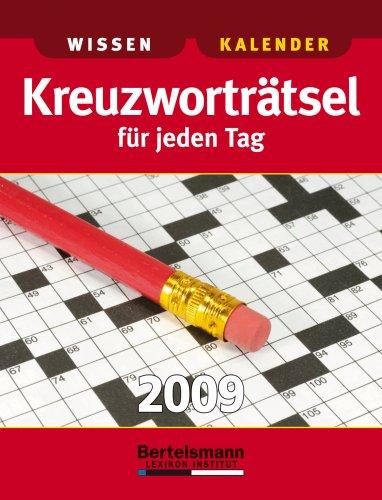 Kalender Kreuzworträtsel 2009
