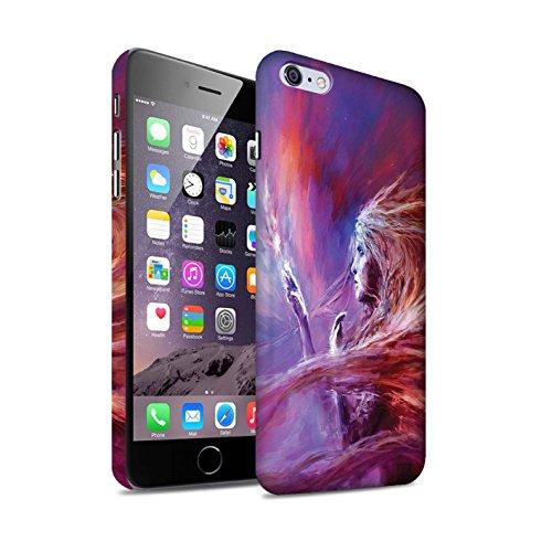 Offiziell Chris Cold Hülle / Matte Snap-On Case für Apple iPhone 6+/Plus 5.5 / Pack 12pcs Muster / Fremden Welt Kosmos Kollektion Raum Mädchen