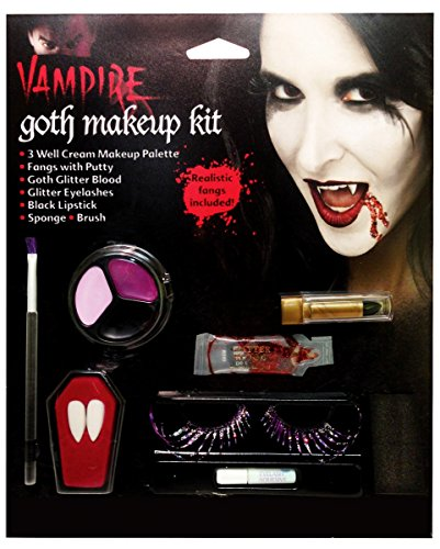 Dunkle Gothic Fee Make Up Set (Halloween Für Make Dunkle Up Fee)