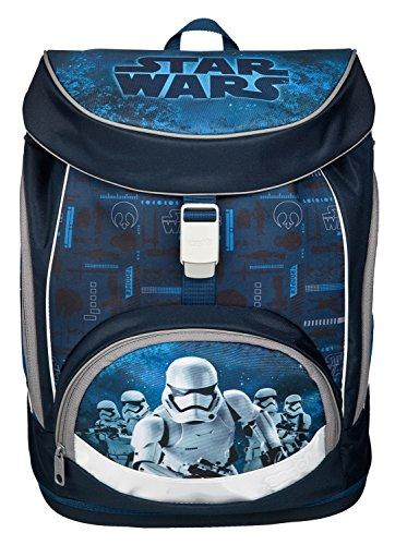 Undercover SWMK7293 Kindergartentasche, Star Wars, ca. 21 x 22 x 8 cm Schulrucksack Set Twixter Up, 4 teilig