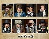 * La Hateful Huit de Précommande * Quentin Tarantino - 20cm Clothed Deluxe Action Figure Set (3000 pièces dans le monde entier) - Pas de post-prévu!