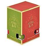"""Premium Essig-Öl Adventskalender """"Bella Italia""""- 24 verschiedene aromatische Geschmackserlebnisse aus Italien - in Glas-Fläschchen á 25ml"""