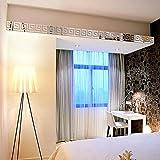 Gaddrt 10pcs Moderner Wand-Acrylplastikspiegel -Aufkleber Tapete Wandpaneele Selbstklebend DIY Wand Wohnzimmer moderne Hintergrund Ar-hall Decke TV Schlafzimmer oder Küche Decor48*48mm ( Silber)