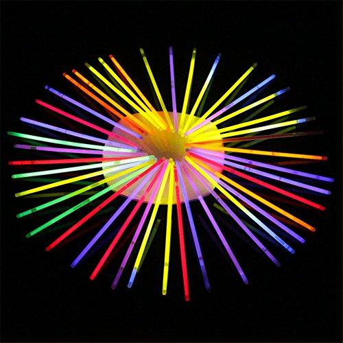 Militär Ball Cap (100PCS Glühstab Leuchtende Bälle Blumen Party Gastgeschenke Packung Aufleuchtend Glühend DIY Spielzeug für Kinder Erwachsene Bei Partys)