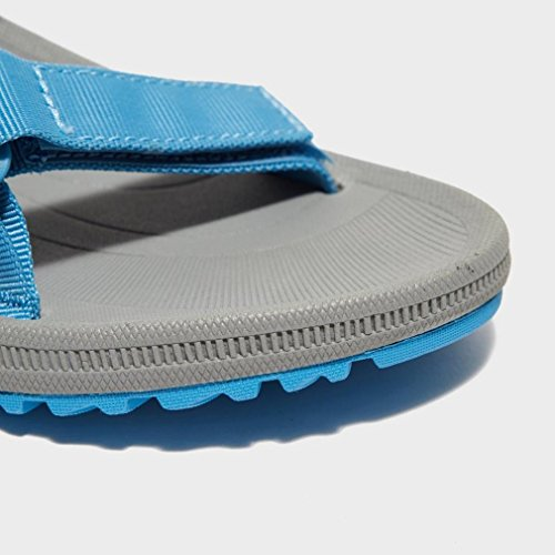 Teva Women's Winsted Solid Sandals Adjustable Straps Quick Drying Ceramic Blue