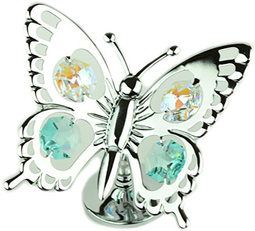 9a2ee8a065 NEW SWALLOWTAIL BUTTERFLY CRYSTAL GIFT SET COLLECTABLE ORNAMENT CRYSTOCRAFT  WITH SWAROVSKI ELEMENTS - Buy Online in Oman.   Kitchen & Home Products  in ...