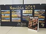 Namibia 2019, Wandkalender + Tischkalender