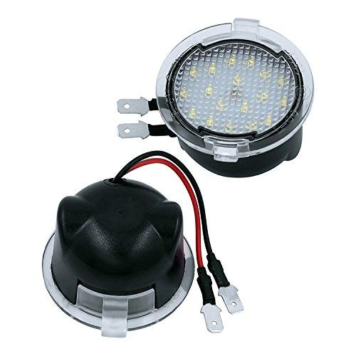 Preisvergleich Produktbild Sehr helle LED SMD Umfeldbeleuchtung Pfützen Spiegel Beleuchtung
