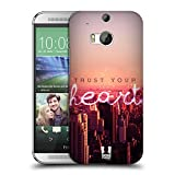 Head Case Designs Herz Stadtbild In Der Dämmerung Worte Fürs Leben 4 Snap-on Schutzhülle Back Case für HTC One M8 / M8 Dual Sim / M8s