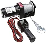 Am-Tech 2000 lb Electric Winch, V1800