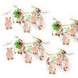 10 putzige Glücks-Schweinchen