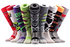 Samson Hosiery ® Crazy Sheeps Funky Funny Socks Gift Novelty Fashion Sports And Casual Knee High Doughnuts For Men Women Kids Unisex