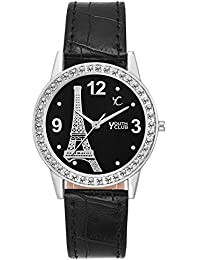 Youth Club New Stunning Black Watch For Girls-PRS-BLK