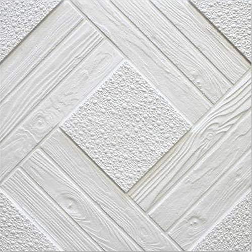 Pannelli Soffitto Polistirolo Duet Bianco