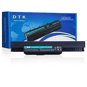 Dtk® Batterie de Rechange pour Ordinateur Portable ASUS A32-K53 A42-K53 K43 K53 X43 A83 A84 K54 K84 P43 P53 X44 X54 X84 X84H Series Battery[6cells 4400MAH/56WH]