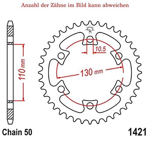 jtSprockets Kettenrad DS 650 2004-2005 36 Zähne JTR1421-36 -