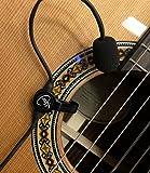 The Feather Gypsy Jazz Micro pour guitare avec col de micro flexible par Myers Micros