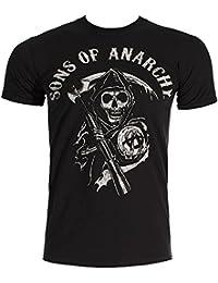 Sons Of Anarchy Main Logo T Shirt (Noir)