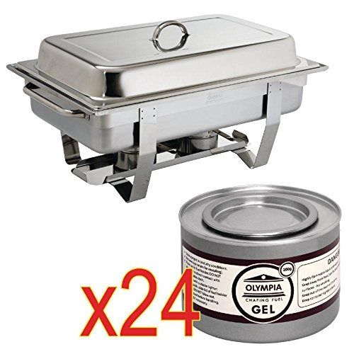 special-offer-1-milan-chafer-and-24-olympia-chafing-liquid-fuel-tins-chafer-and-24x-liquid-fuel-tins