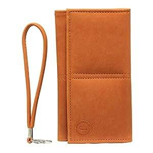 Jo Jo A5 Nillofer Leather Wallet Universal Pouch Cover Case For Lenovo ZUK Z2 ProOrange