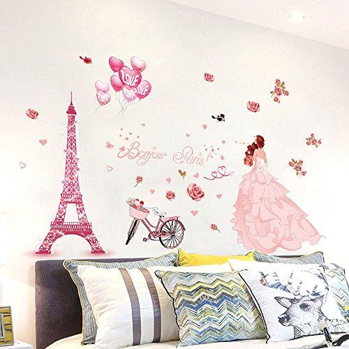 Odjoy-fan fai da te adesivo per casa rimovibile murale art home decor-adesivo da parete in acrilico rimovibile a forma di albero con rami incurvati -parete della parete della stanza