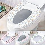 Generic Bild 4: 2016Neue WC-Sitz Beheizte Super praktisch Paste WC-Sitz Cover Edelstein Dick beiji Rong Verwendung kann wiederholt gewaschen werden