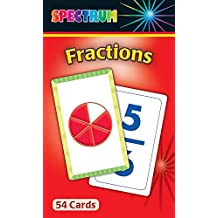 Fractions Flash Cards by Carson-Dellosa Publishing (24-Sep-2010) Cards