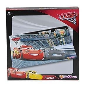 Eichhorn 100003292-Disney Cars 3Forma Puzzle 38x 20cm, 45Piezas, 38x 20cm
