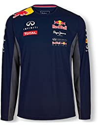 Pepe Red Bull Racing Collection OTL LS Functional Men, Camiseta para Hombre