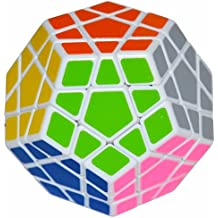 LSMY Megaminx 3x5 Puzzle Cubo Toy Blanco