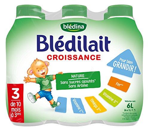 Blédina – Blédilait – Lait bébé Croissance – 10 à 36 Mois -Lot de 6 014a179247d