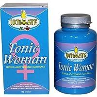 Ultimate Italia Tonic Woman Integratore di Arginina - 80 (Maca Zinco Vitamine)