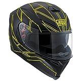 AGV K-5 HERO Integralhelm schwarz/fluo gelb L