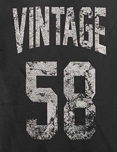 Vintage 1958 T-Shirt Grau