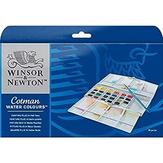 Winsor & Newton Plus 24HP - Acuarelas diluible en agua (24 colores) (B000PD3LYO)   Amazon Products