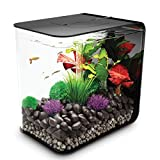 biOrb Flow Aquarium, 30 Litre, Black, LED Light