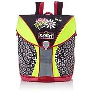 Scout Set de sacs scolaires, Schwarz/Pink (Multicolore) - 71500714700