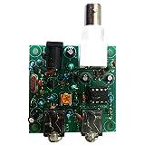 MagiDeal Kit 40M CW RADIO Transmisor de Onda Corta QRP Pixie Receptor 7.023-7.026MHz Transceptor de Baja Potencia