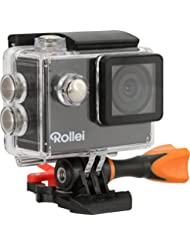 """Rollei Actioncam 300 Plus - HD Video Funktion 720p, Unterwassergehäuse für bis zu 40m Wassertiefe, inkl. Schwimmgriff """"Bobber"""" - schwarz"""