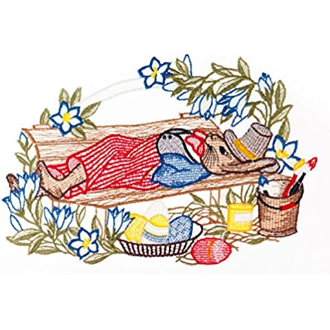 29 x 19 cm de encaje de Navidad Spitze Plauner Dream de Pascua Window picture/cairel