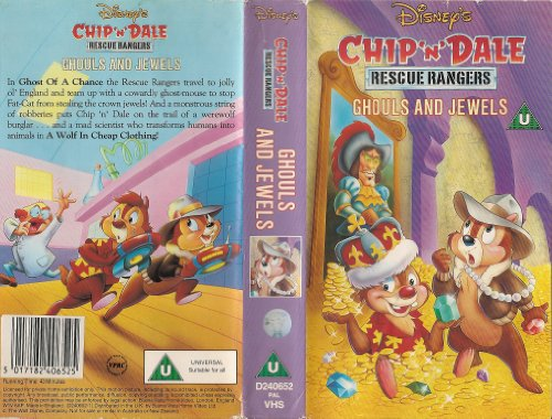 Chip 'n' Dale - Rescue Rangers - Ghouls And Jewels