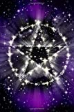 A Cosmic Pentagram Magical Journal: 150 Page Lined Notebook/Diary