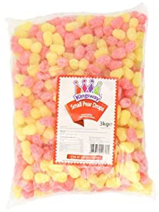 Kingsway Small Pear Drops 3 Kg