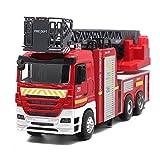 Xie5Qing Spielzeug Feuerwehrauto, Gran Oferta De Coches De Juguete Grandes, Coches De Ingeniería Grandes, Motores De Bomberos De Aleación EIN Escala 1:32, Camiones De Bomberos De Escalera De Sonido