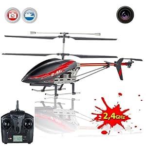 3.5 Kanal 2.4GHz XXL RC ferngesteuerter Kamera-Hubschrauber, Helikopter mit 2,4GHz, Ready-to-Fly Heli-Modell, Neu