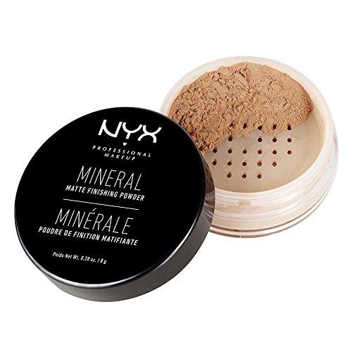 NYX Professional Makeup Polvos fijadores Mineral Finishing